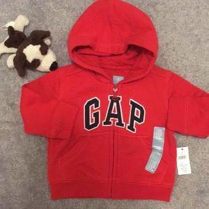 BabyGap Red Hoodie (6-12months) NWT